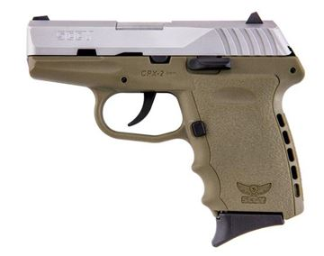 SCCY CPX-2 TTDE 9 mm Pistol (Flat Dark Earth)