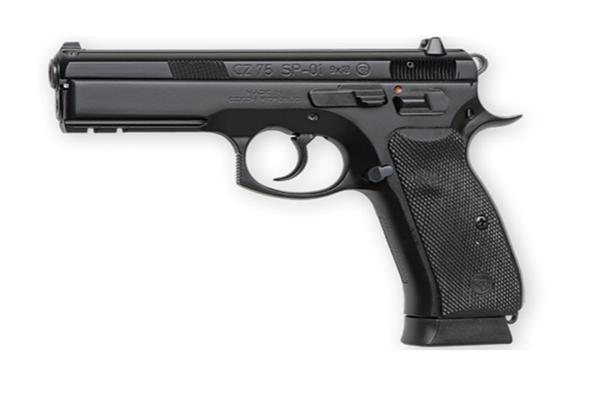 CZ75 SP01 9 mm Black Night Sights Pistol 10 Round CA -01152
