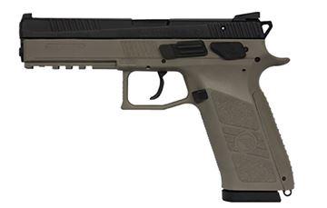CZ P-09 9 mm FDE Night Sights Pistol - 91630