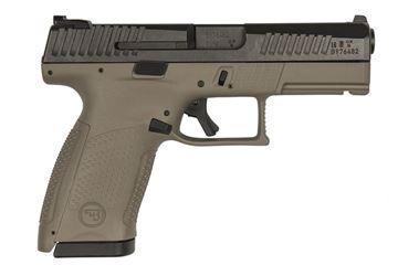 CZ P-10 C FDE 9mm Pistol 15 Round - 91521 with Tritium Night Sights