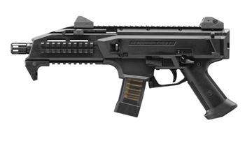 "CZ SCORPION EVO 3 S1 9 mm Pistol 7.72"" Barrel threaded 1/2X28 Black"