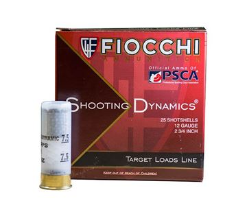 Fiocchi 12 Gauge Ammo 2 3/4 1 1/8oz #7.5 1200 FPS (10 Boxes of 25 Round)