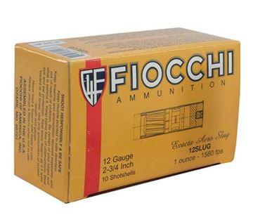 Fiocchi 12 Gauge 2 3/4 1oz High Velocity Slug  (Box of 10)