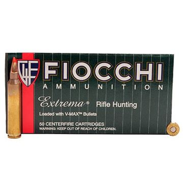 Fiocchi .204 Ruger Fiocchi Extrema 32 Grain V-Max Polymer Tip Bullet (Box of 50 Round)