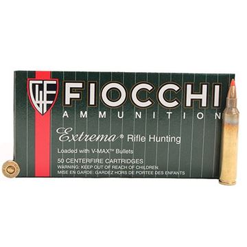 Picture of Fiocchi Extrema Ammunition 204 Ruger 40 Grain Hornady V-MAX Point (Box of 50 Round)