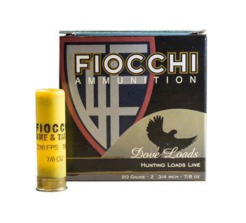 Fiocchi 20 Gauge Ammo 2 3/4 7/8 oz #7.5 1210 FPS (Box of 25 Round)