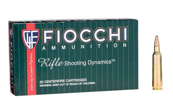Fiocchi .22-250 Remington 55 Grain V-Max Boat Tail Ammo (Box of 20)