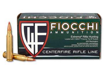 Picture of Fiocchi .223 Remington 50 Grain V-Max Ammo (Box of 50 Round)