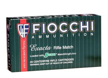 Fiocchi Exacta .223 Remington 69 Grain SMK BTHP Ammo (Box of 20 Round)