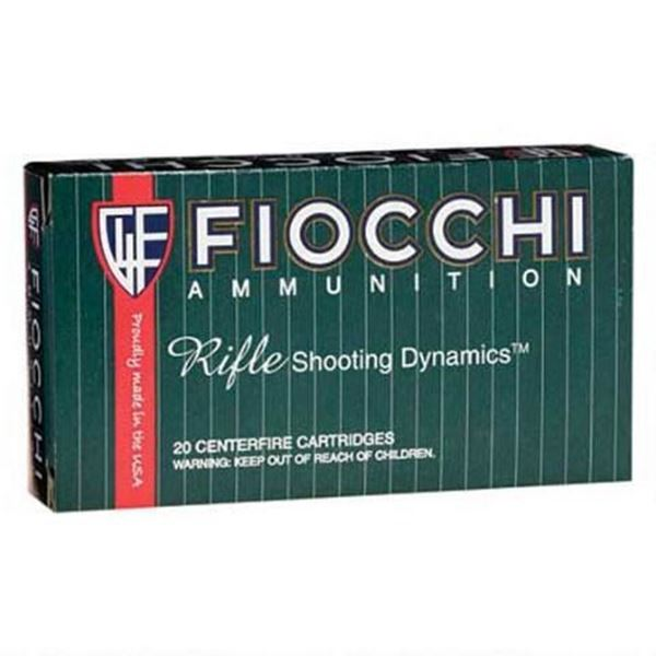 Fiocchi .243 Wincheser Rifle Shooting Dynamics 100 Gram Pointed Soft Point (Box of 20 Round)
