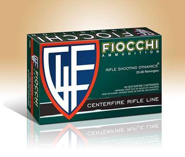 Fiocchi .25-06 Remington Shooting Dynamics Interlock BTSP 117 Grain Ammo (Box of 20)