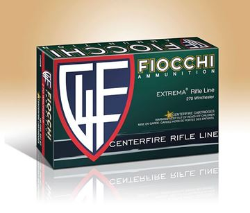 Fiocchi .270 Winchester Rifle Shooting Dynamics Interlock FB Pointed Soft Point 150 Grain Ammo (Box of 20 Round)