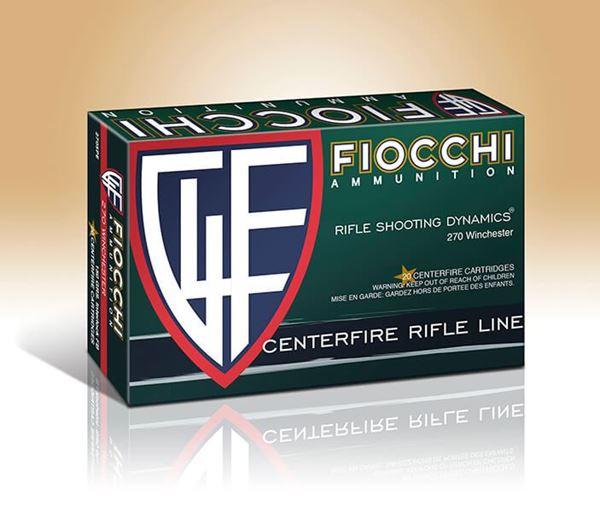 Fiocchi .270 Winchester Rifle Shooting Dynamic Interlock FB PSP 150 Gram Ammo (Box of 20 Round)