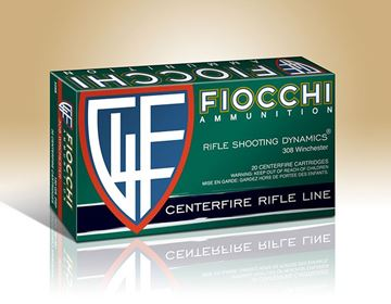 Fiocchi .308 Winchester Pointed Soft Point 150 Grain Ammo (Box of 20)