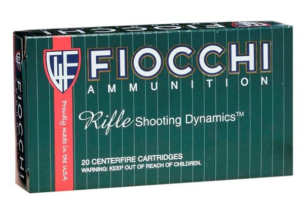 Fiocchi .308 Winchester Rifle Shooting Dynamics 180 Grain Ammo (Box of 20)