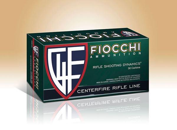 Fiocchi .30 Carbine 110 Grain, FMJ Boat Tail (Box of 50)