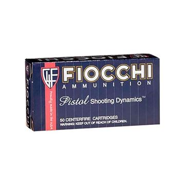 Fiocchi .357 Magnum 158 Grain JHP Ammo (Box of 50 Round)