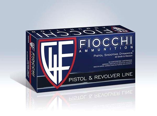 Fiocchi .40 S&W 180 Grain FMJTC Ammo (Box of 50 Round)