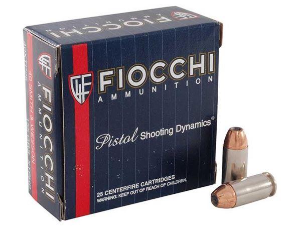 Fiocchi .40 S&W 155 Grain XTP HP Ammo (Box of 25 Round)