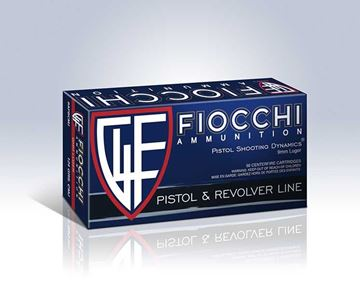 Fiocchi 9 mm 115 Grain Full Metal Jacket Copper Ammo (Box of 50 Round)