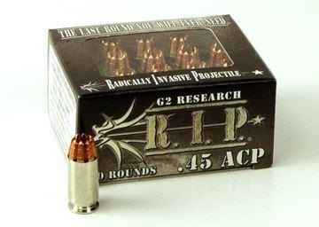 G2 Research 45 ACP 162 Grain R.I.P. Ammo - Box of 20 round