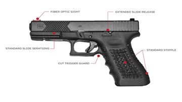 Head Down Custom Glock 19