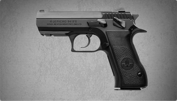 IWI PSL-9 Polymer Pistol 9 mm Tritium Sights with JGEAR Kit-05855
