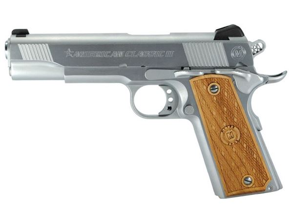 "Metro Arms 1911 .45 Classic II 5"" 1911 Hard Chrome"