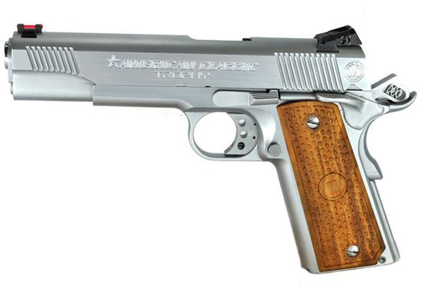 "Metro Arms 1911 .45 American Classic Trophy 5"" 1911 Hard Chrome"
