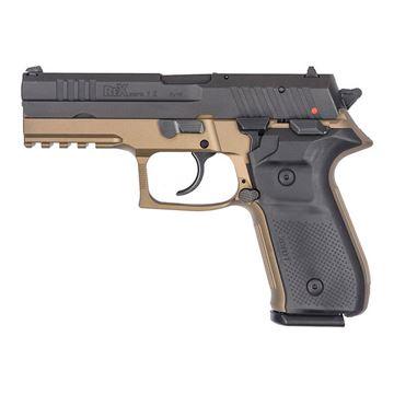 Rex Zero 1S Standard Size FDE 10 Rounds 9mm Pistol