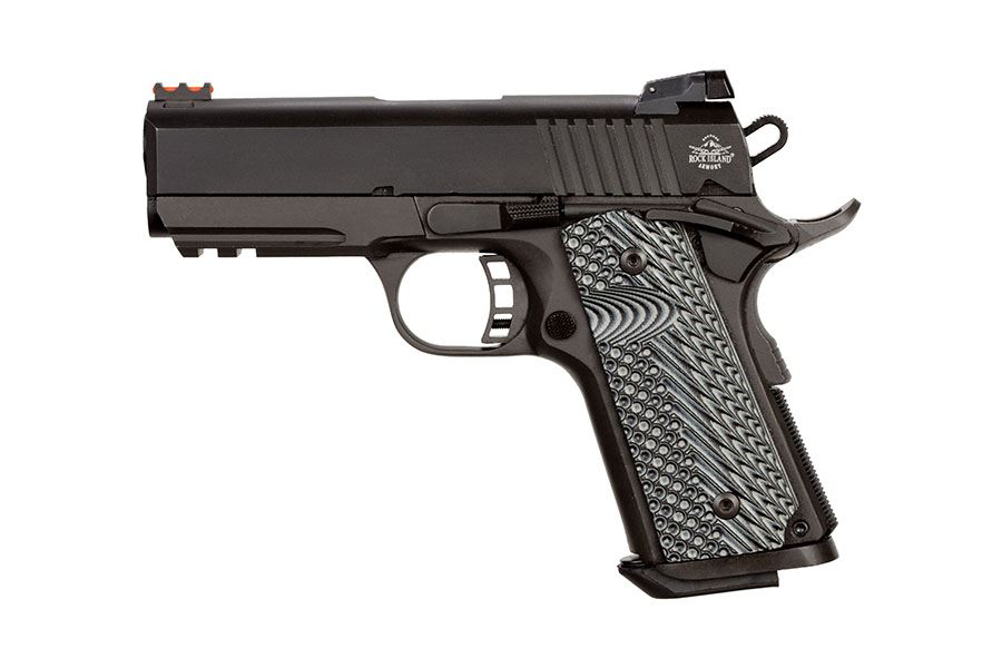 Rock Island  Compact Tactical  Acp Review
