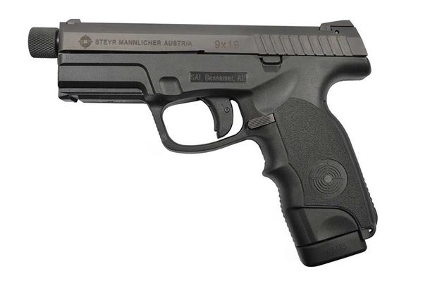 Steyr Arms M9-A1 9 mm Pistol with 1/28 Threaded Barrel