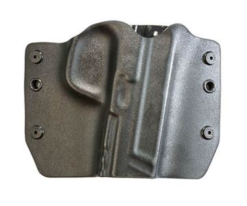 Picture of Bullseye Holster OWB RH for S&W Shield with Crimson Trace laser