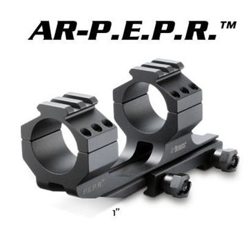 Picture of Burris Optics 410343 AR PEPR 1 Inch Scope Mount (Black)