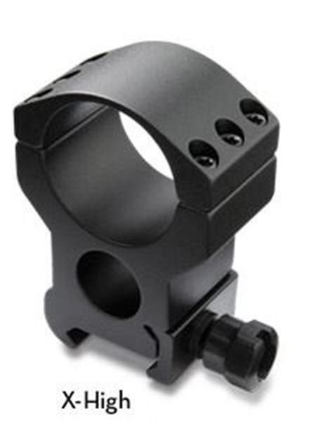 Burris Optics 420166 Xtreme Tactical Picatinni Style Rail 30 mm (1.18 inch) Rings, XHigh 1 inch Height, Two Rings