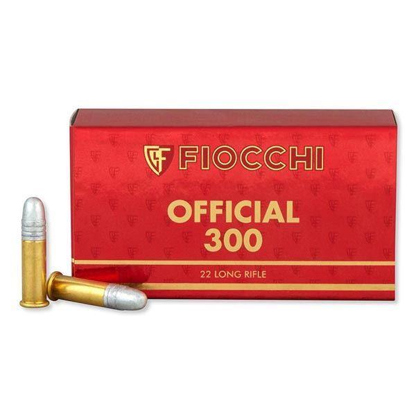 Fiocchi .22 Long Rifle 40 Grain Exacta Official Super Match Ammo (Box of 50)