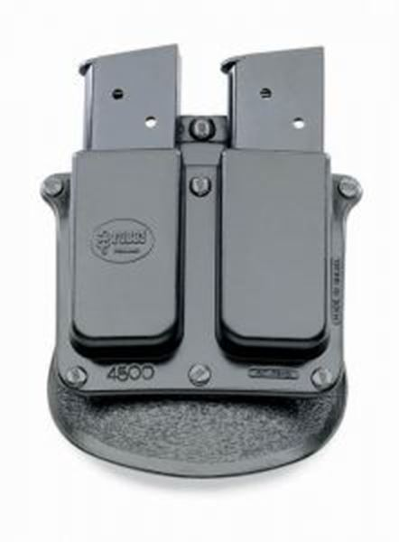 Double mag pouch single stack .45 cal