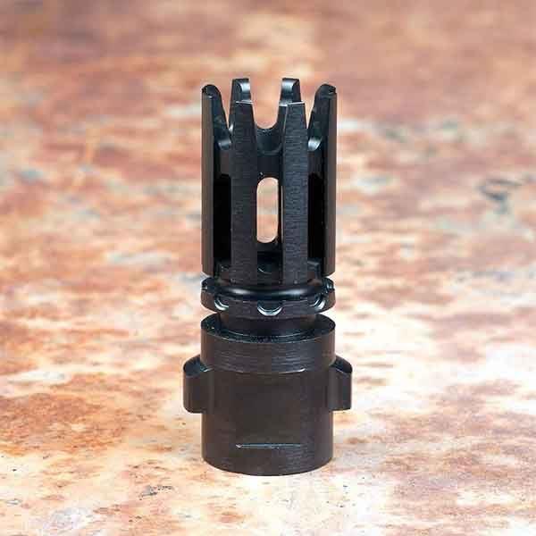 QUICKMOUNT 5.56, Carbon Cutting Flash Hider, Threaded 1/2 x 28