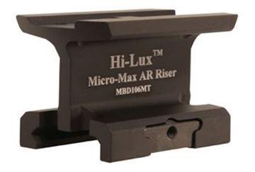 Hi-Lux AR Riser Mount for Micro-Max B-Dot