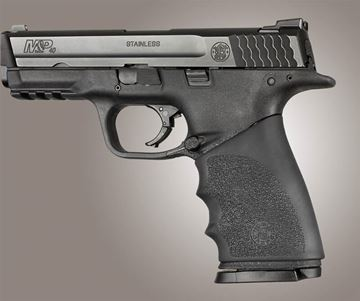 Hogue Hand All Beaver Tail S&W M&P Shield, Ruger LC9, Glock 26/27 - Black