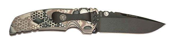 Hogue EX-01 3.5 inch  Folder Drop Point Blade, Cerakote G10 Frame Tread, G-Mascus Dark Earth