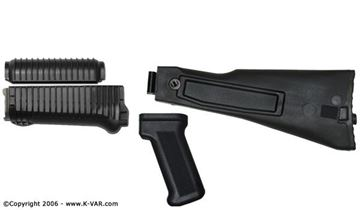 Black Set Krink US Upper and Lower Handguard