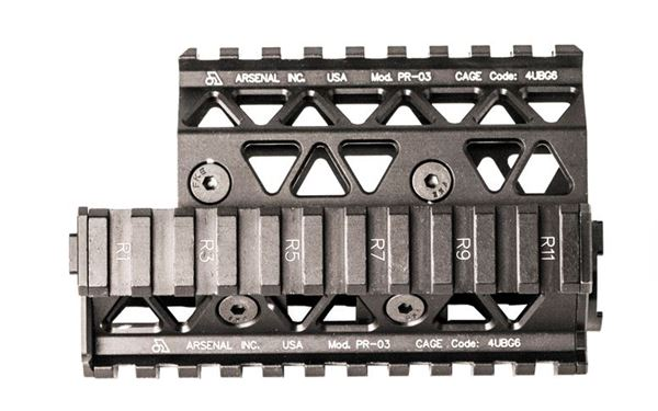 Precision Quad Rail Handguard System for Krink 7.62 x 39 mm and 5.56 x 45 mm Calibers only