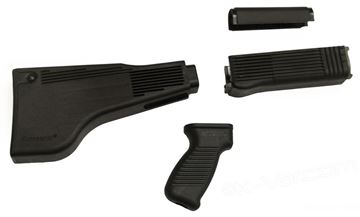 Light Machine Gun Stock Set (Blk Set RPK Rifles)