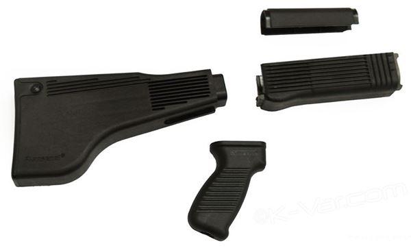 Light Machine Gun Stock Set (Blk Set RPK Rifles)