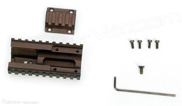 Quad Rail Sagia12 w/Hand guard & Retainer for Saiga S12 Shotgun