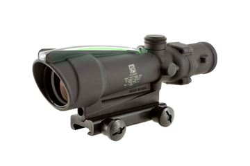 Trijicon ACOG® 3.5 x 35 Dual Illuminated Green Horseshoe .223 Ballistic Reticle w/ TA51 Mount