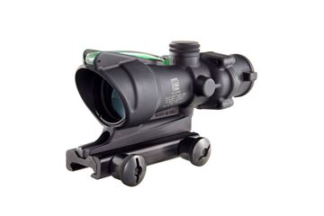Trijicon ACOG 4 x 32 Scope, Dual Illuminated Green Crosshair .223 Ballistic Reticle w/ TA51 Mount