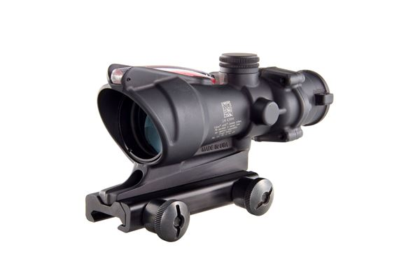 Trijicon ACOG® 4x32 Dual Illuminated Red Horseshoe/Dot .223 BAC Reticle w/ TA51 Mount