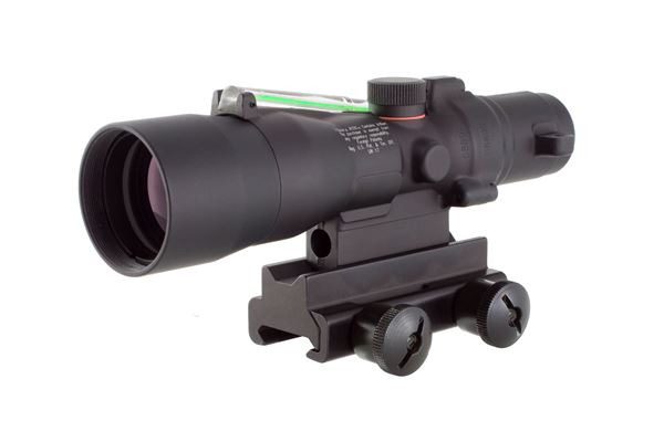 Trijicon ACOG® 3 x 30 Dual Illuminated Green Horseshoe/Dot .223 Ballistic Reticle w/TA60